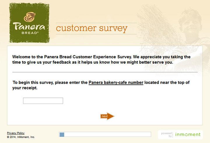 Panera-Bread-Survey