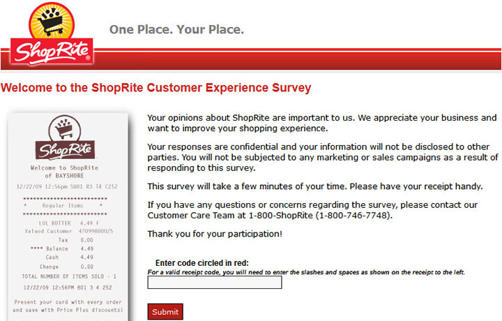 ShopRite-Customer-Experience-Survey
