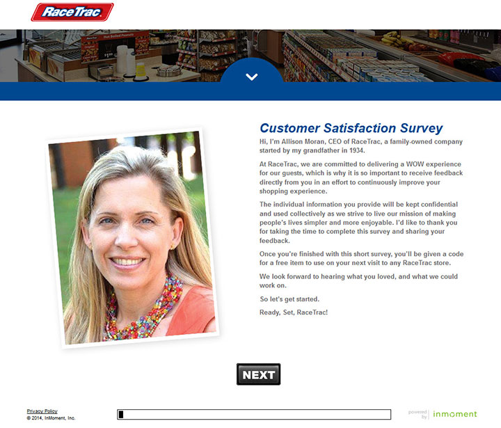RaceTrac-Survey