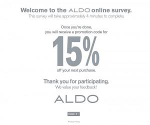 Aldo-Shoes-Survey
