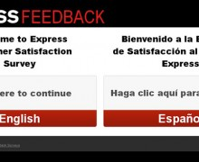 Express Customer Satisfaction Survey
