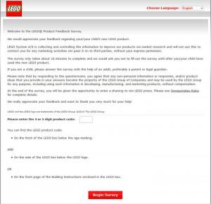 Lego-Survey