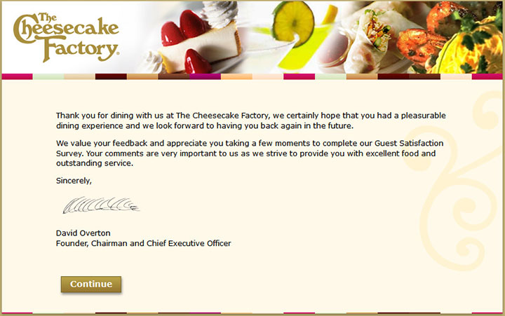 The-Cheesecake-Factory-Guest-Satisfaction-Survey