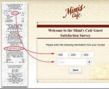 Mimi's Cafe customer satisfaction survey