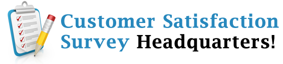 Customer Satisfaction Survey Headquarters! logo
