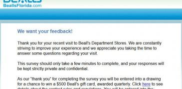 Bealls-Florida-Survey
