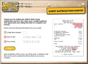 Which-Wich-Guest-Satisfaction-Survey