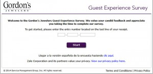 Gordon's-Jewelers-Guest-Satisfaction-Survey