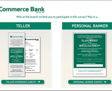Commerce Bank Customer Experience Survey
