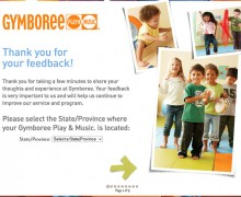 Gymboree Play & Music Guest Survey