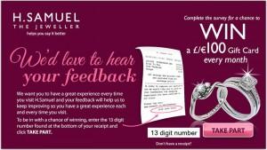 H.Samuel-UK-Store-Feedback-Survey