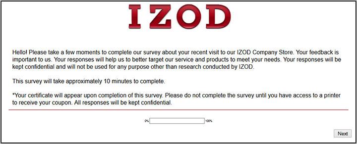IZOD-Survey