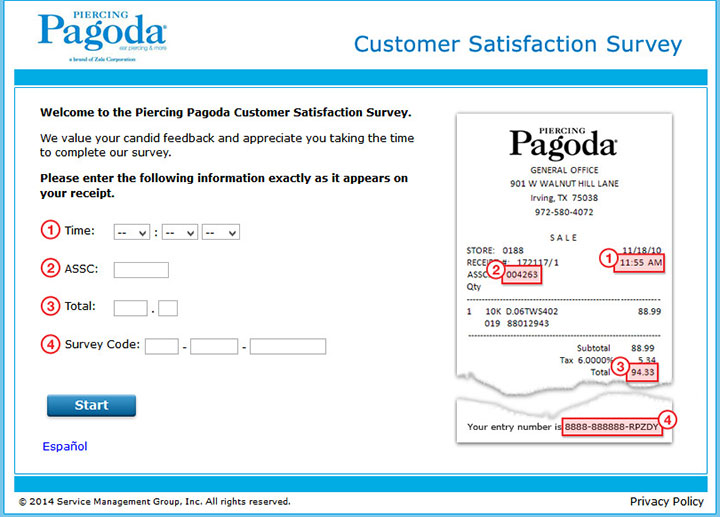 Piercing-Pagoda-Customer-Satisfaction-Survey