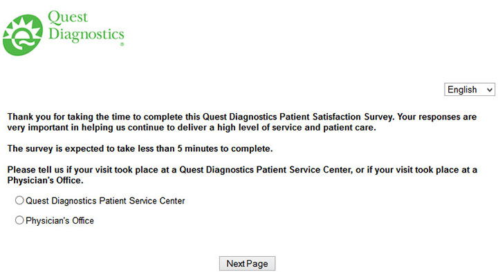 Quest-Diagnostics-Patient-Satisfaction-Survey