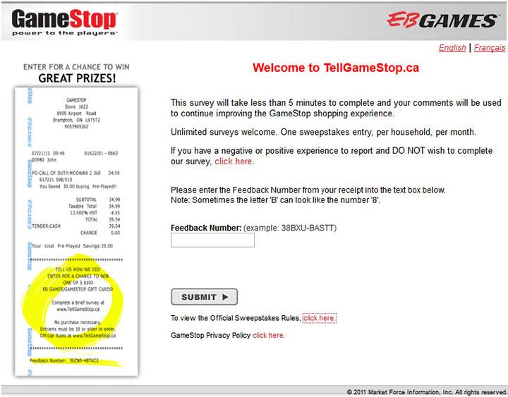 GameStop-Customer-Experience-Survey-CA
