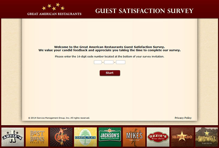 Great-American-Restaurants-Guest-Satisfaction-Survey