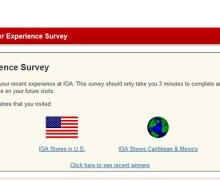 IGA Shopper Experience Survey