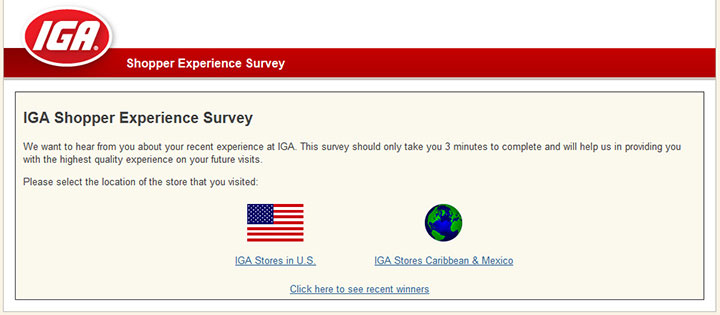 IGA's-Shopper-Experience-Survey