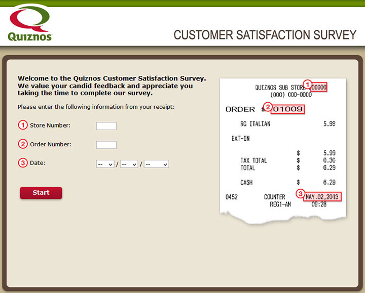 Quiznos-Customer-Satisfaction-Survey