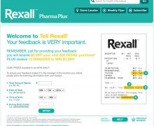 Rexall Customer Experience Survey