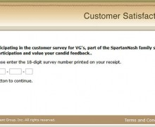 VG's Customer Survey