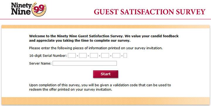99-Restaurants-Guest-Satisfaction-Survey