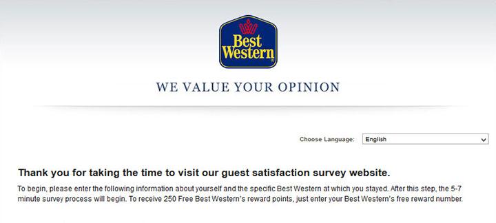 Best-Western-Survey