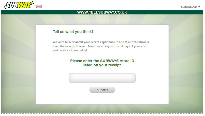 SUBWAY-UK-Customer-Survey