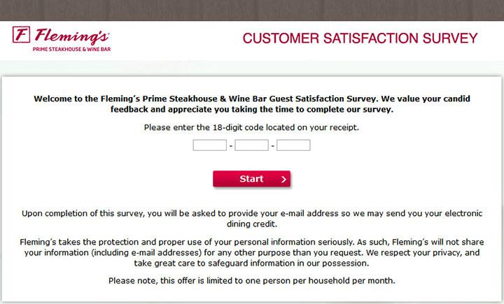 Fleming's-Guest-Satisfaction-Survey