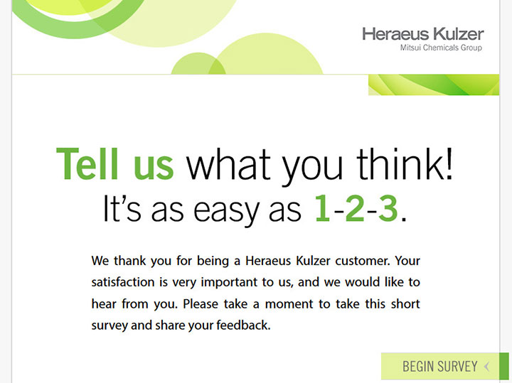 Heraeus-Survey