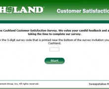 Cashland Customer Satisfaction Survey