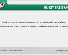 Hess/Hess Express Guest Satisfaction Survey