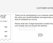 Lord & Taylor Customer Satisfaction Survey