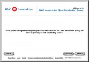 BMO-InvestorLine-Client-Satisfaction-Survey