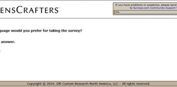 Lenscrafters-survey