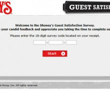 Shoney's Guest Satisfaction Survey