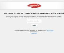 SVT Constant Customer Feedback Survey