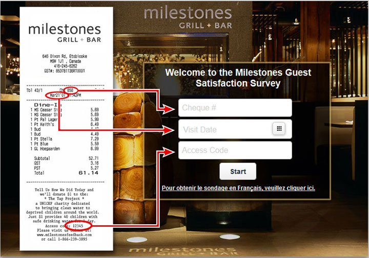 Milestones-Guest-Satisfaction-Survey