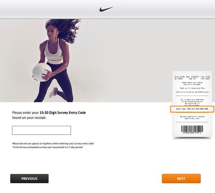 Nike-Survey
