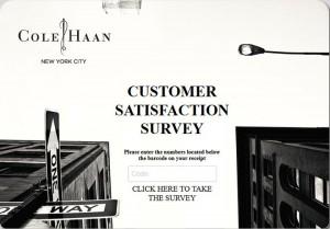 Cole-Haan-Customer-Satisfaction-Survey
