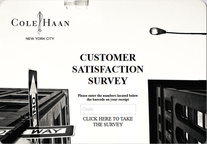Cole-Haan-Customer-Satisfaction-Survey