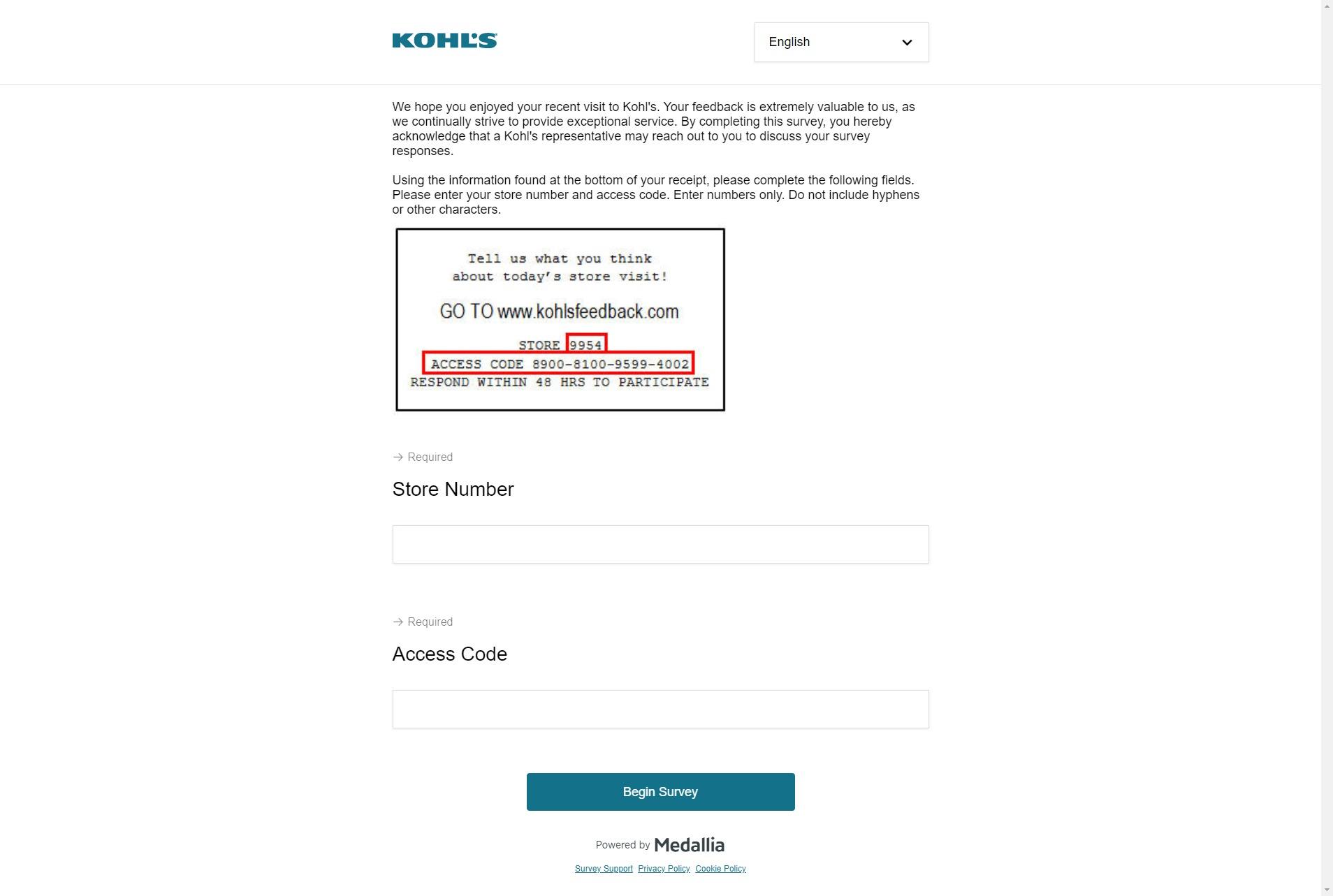 Www Kohlsfeedback Com Take Kohl S Survey To Share Your Feedback